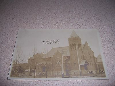 1911 PRESBYTERIAN CHURCH BOYNE CITY MICHIGAN ANTIQUE RPPC POSTCARD