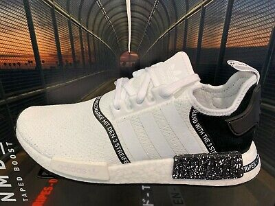 adidas NMD R1 Speckle Pack Tape White