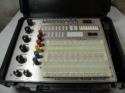 R.S.R. Electronics Analog/Digital Trainer Model:- PAD-234A  WORKS FINE