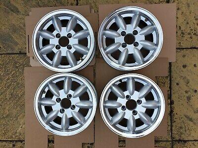 "JBW ""Minilite"" replica alloy wheels x 4 suitable for a Triumph Spitfire 1500"