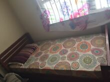 Single Bed with Mattress / $100 only / very good condition Regents Park Auburn Area Preview
