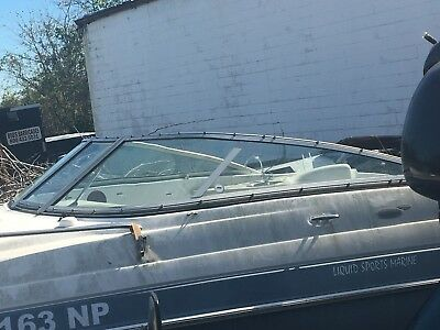 2006 Four Winns 215 Sundowner Boat  Glass Windshield 5 Pieces Parting Boat Out