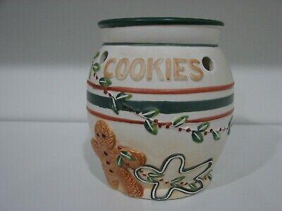 Yankee Candle Gingerbread Man Tart Warmer/Burner Christmas Cookies