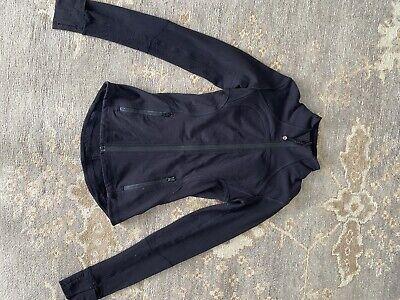 Lululemon Define Jacket, Black, Size 2