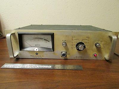 Millivac Instruments Mv-828ar Rf Milli-voltmeter Millivoltmeter