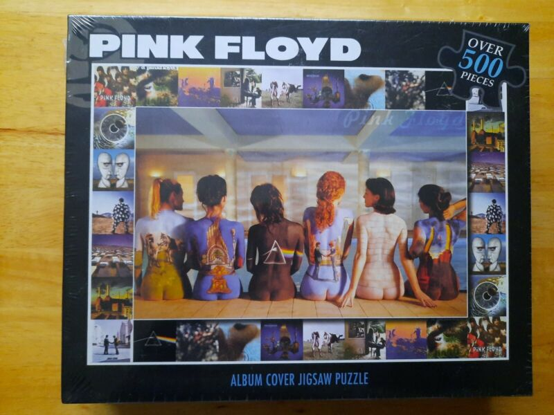 Pink Floyd Back Art Album Cover Jigsaw Puzzle 500 Pieces NEW