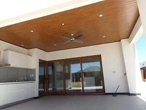 uCLAD :- PVC Ceiling, Cedar look linings Malaga Swan Area Preview