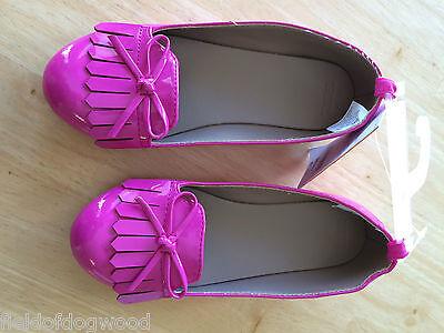 NWT Gymboree Woodland wonder Pink Dress Shoes SZ 11,12,1,2 Girls - Pink Girls Dress Shoes