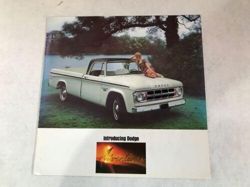 VINTAGE ORIGINAL 1967 DODGE TRUCK CATALOG