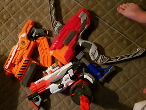 NERF GUNS!! GREAT CONDITION