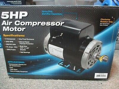Marathon 5hp Air Compressor Motor Gex0b386 New