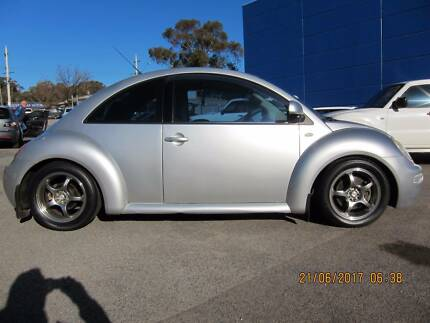 2001 Volkswagen Beetle 1.8L Turbo Hatchback 5SP Manual Silver Fyshwick South Canberra Preview