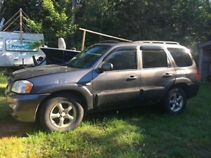 2006 Mazda Tribute, AWD, Runs great, Drives, for Parts OBO