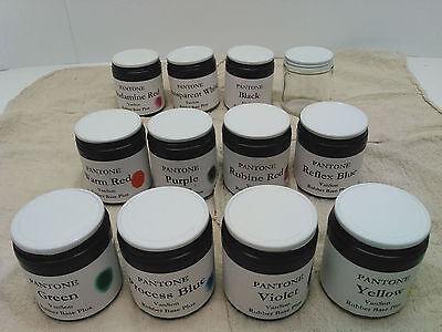Pms Pantone Ink Kit Vanson Rubber Base For Letterpress Prinitng 3.2oz Ea. Of 11