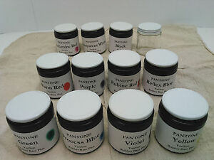 PMS Pantone Ink Kit VanSon Rubber Base for letterpress prinitng 3.2oz ea. of 11