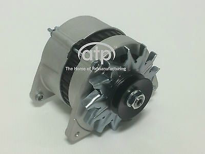 NEW CANAL BOAT ALTERNATOR HIGH OUTPUT 75 AMP A127 TYPE DUAL TERMINATION LH FIT