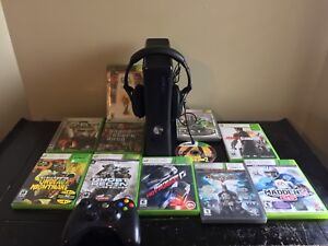 XBOX 360 Slim For $120 Comes with 11 Games, Controller, More