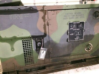 Mep-803a 10kw Diesel Generator Military 120240 60hz 1-3 Phase 2855 Hours