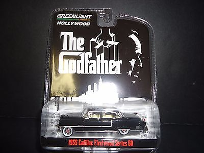 Greenlight Cadillac Fleetwood Series 60 1955 The Godfather 1/64 44740 ts1