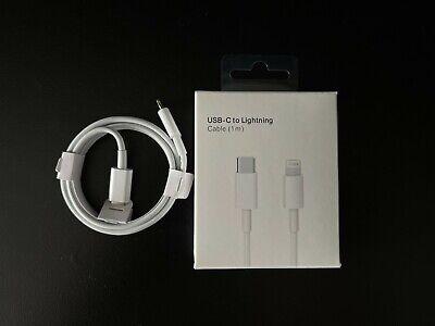 Cable iPhone USB-C a Lightning 1M Tipo C Carga Rápida MQGJ2ZM/A Calidad...