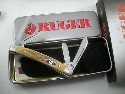 CASE LIMITED EDITION STAG RUGER SMALL CONGRESS KNIFE NEVER USED IN BOX #5468 SS