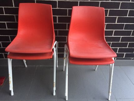 Chairs-red Revesby Bankstown Area Preview