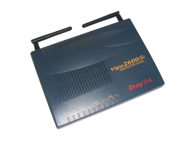 DrayTek Vigor 2600Gi 2600 Gi 54Mbps Wireless ADSL Router ISDN                *22