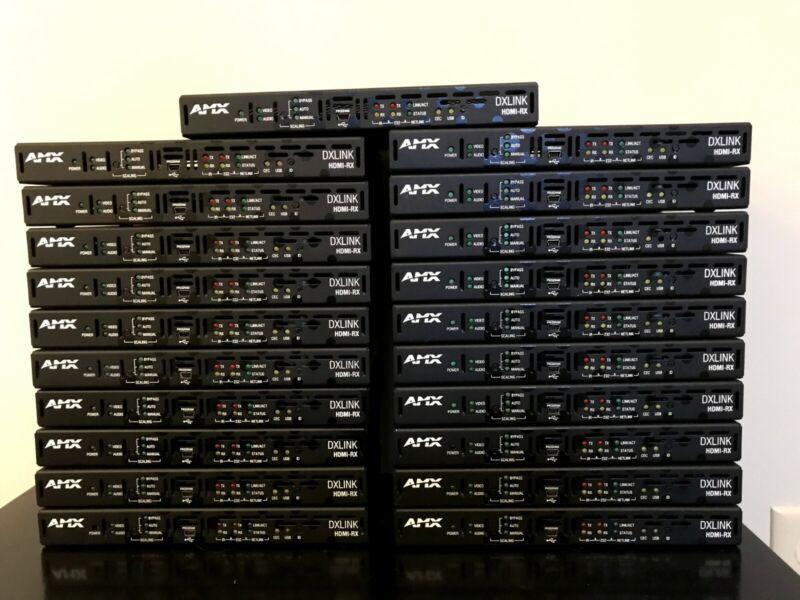 Twenty-One 21 AMX FG1010-500 DXLINK HDMI-RX Receiver Modules