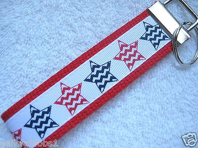 - PATRIOTIC CHEVRON STARS Key Fob (really cute keychain)