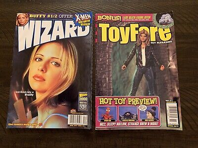 "BTVS Buffy the Vampire Slayer ""Wizard and ToyFare"" 1999 Magazine Covers"