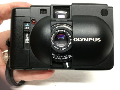 Olympus XA Vintage 35mm Camera - Untested