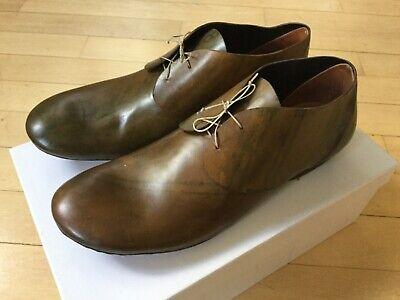 Carpe Diem by Maurizio Altieri Rare Lace up Shoes Horse Leather New