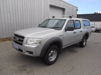 2007 Ford Ranger 4X2 Turbo Diesel Dual Cab Ute Wangara Wanneroo Area Preview