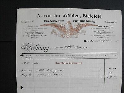 acbdaabac21fd9 Rechnung Bielefeld 1930 Gorickenwerke