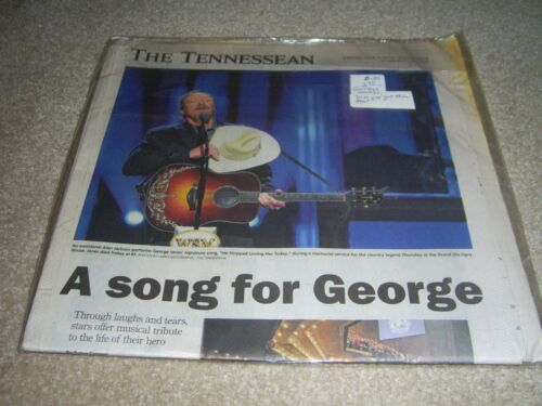 George Jones, The Tennessean, article 5/3/2013, a song for george,
