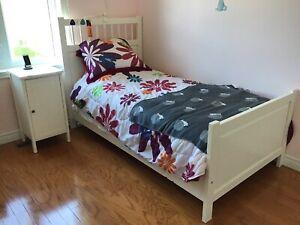 Set de chambre à coucher blanc