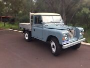 Land Rover Series 3 petrol 2.3L 109 LWB ute Claremont Nedlands Area Preview