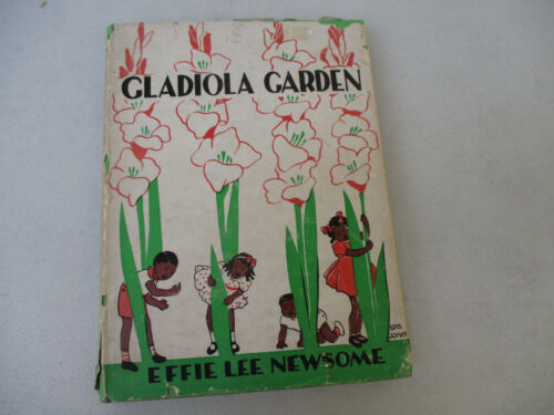 Black Americana Vintage Children Book Effie Lee Newsome Harlem Renaissance 1940