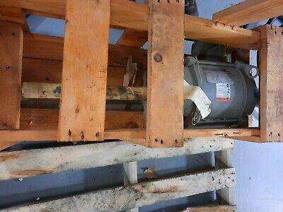 Us Electric Motor 10hp New Surplus 1-12 Diameter Shaft Extra Long 12 3500 Rpm