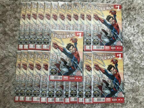 Amazing Spider-Man 1 NM 1st App Cindy Moon (Silk) Marvel 2014