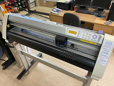 Graphtec Fc 7000-75 Vinyl Plotter Optical Registration For Contour Cutting