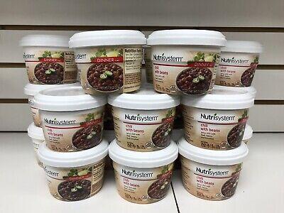 NUTRISYSTEM 22 CHILI BEAN SOUP DINNER - EXP -