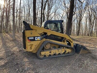2017 Cat 299d2 2 Speed Skid Steer Loader Caterpillar