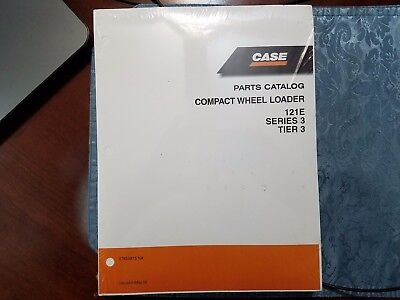 Case 121e Series 3 Tier 3 Parts Catalog Compact Wheel Loader 87659815 Na