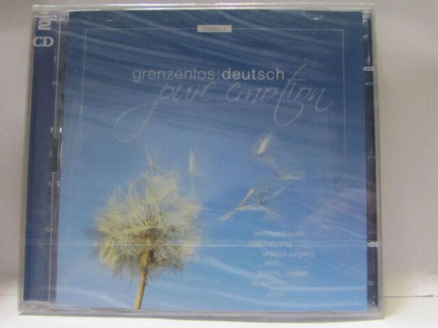 GRENZENLOS DEUTSCH PURE EMOTION CD NEU & OVP 4032989950324   REGAL5