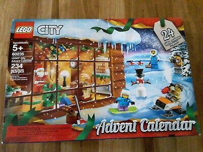 LEGO City Advent Calendar 60235 Building Kit, New (234 Pieces)