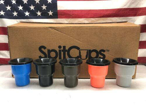 SpitCups™ Chewing Tobacco Dip Spit Cup Roadie Tumbler Rambler *Fits Cup Holders*