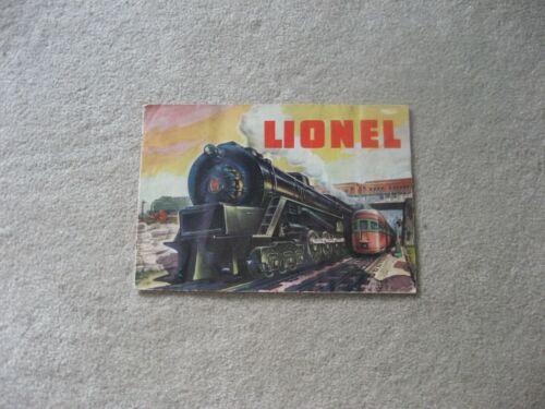 1948 LIONEL TRAINS CONSUMER CATALOG EXCELLENT
