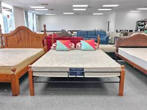 TODAY DELIVERY MODERN Queen bed frame (mattress available) Belmont Belmont Area Preview