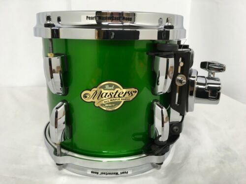 "Pearl Masters MCX 8"" Mounted Tom/SHAMROCK GREEN/Finish #388/Maple Shell/NEW"